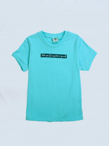 GIRLS LOVE LIVE HOPE GRAPHIC TEE IN LIGHT GREEN