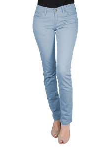 GLORIA SKINNY FIT COLOUR JEANS IN PETROL