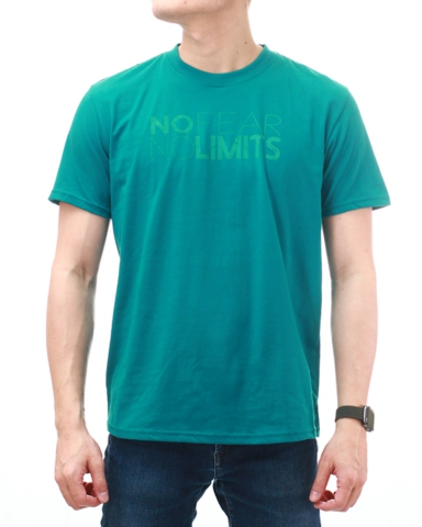 MEN NO FEAR NO LIMITS GRAPHIC TEE IN DARK TEAL