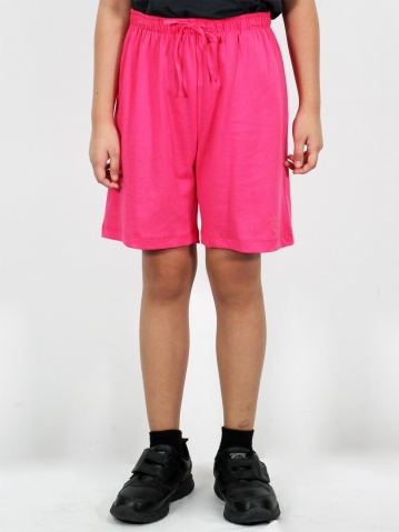 MELODI SOLID KNIT BERMUDA IN PINK